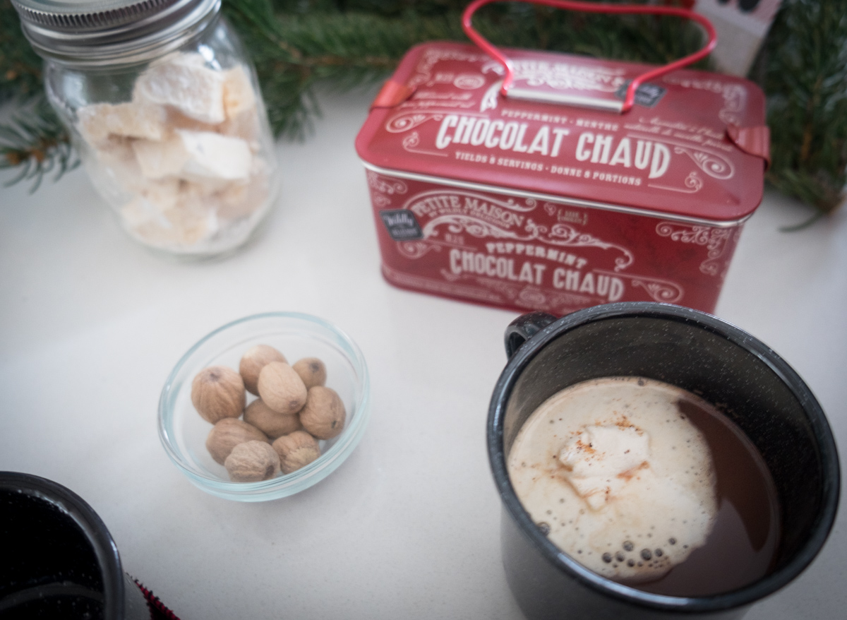 Hot Chocolate bar-into the woods-Christmas-holiday-party