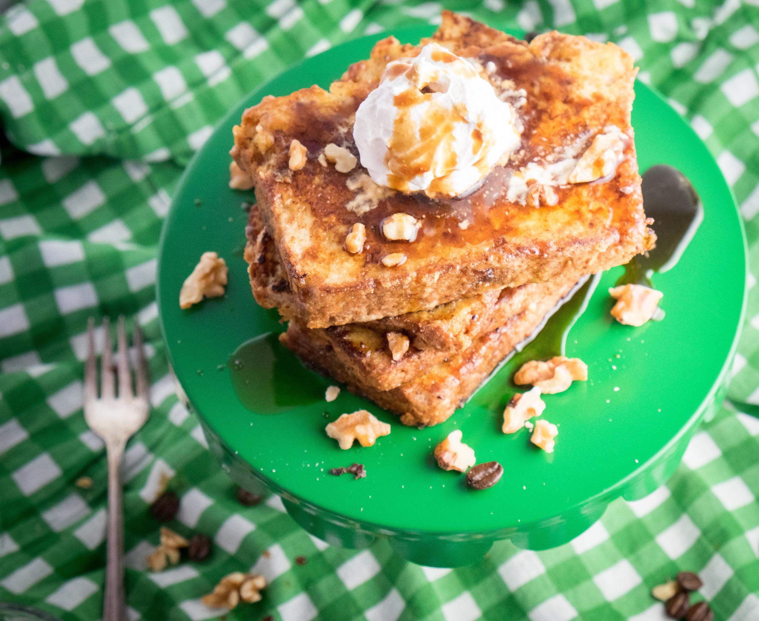 Irish-whiskey-french-toast-coffee-St. Patrick's Day-breakfast
