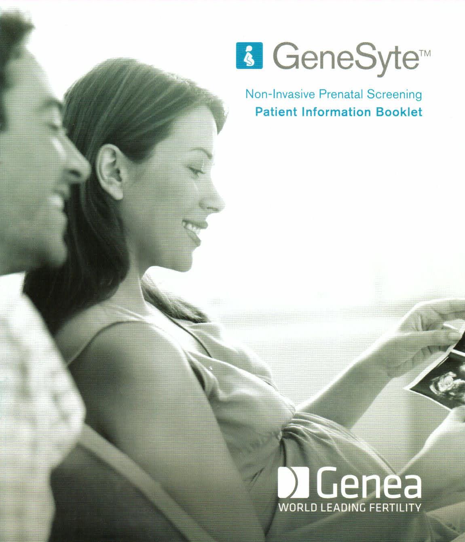 GeneSyte NIPT sceening test