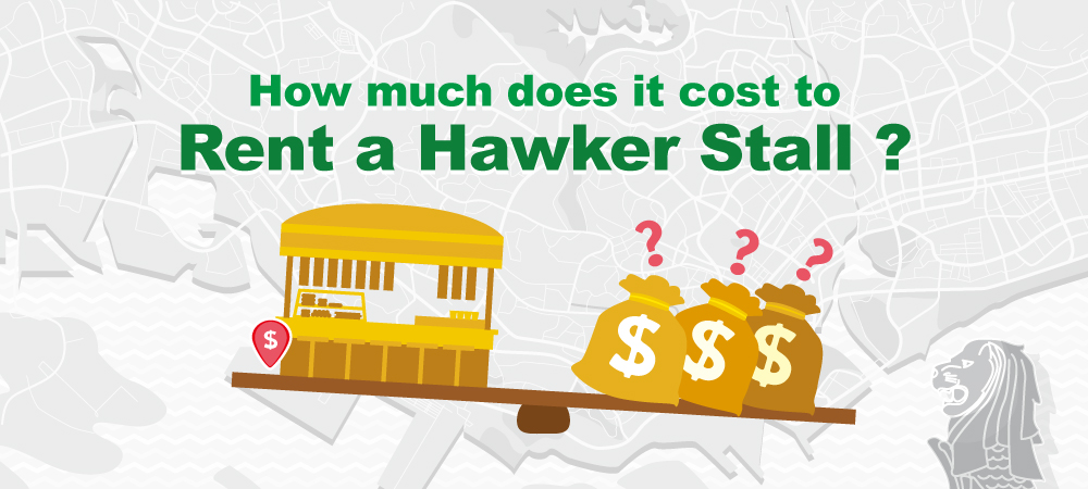 How much does it cost to Rent a Hawker Stall?