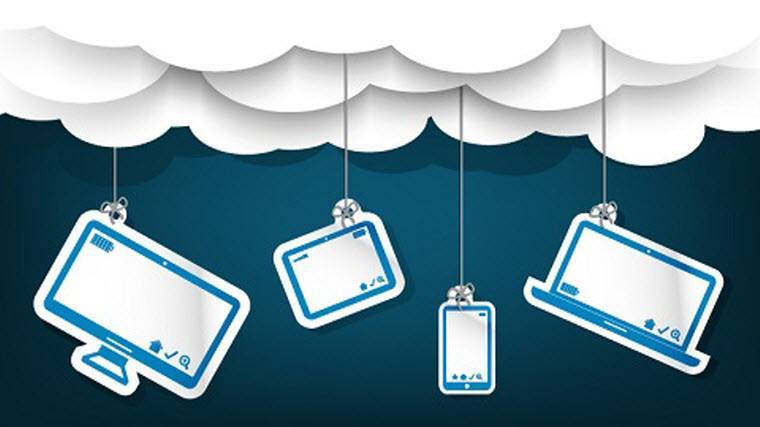 Access your data on the Cloud through different devices
