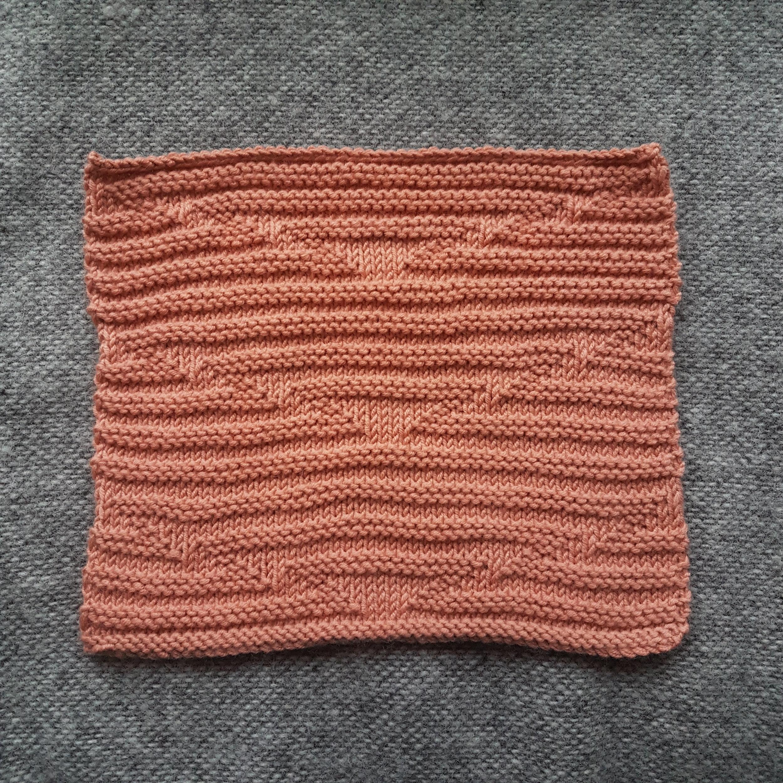 Delaunay Knitting Stitch: Front