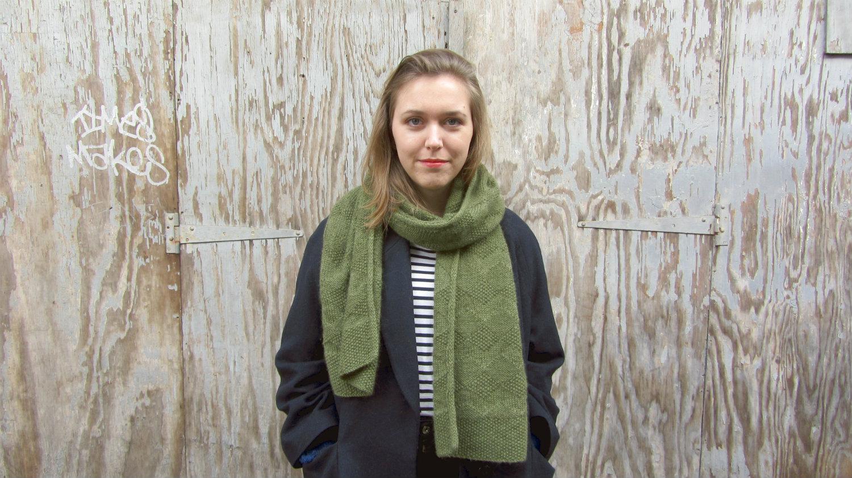 Lovelock Scarf Knitting Pattern