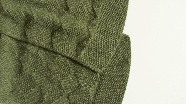 Lovelock Scarf Stitch Pattern