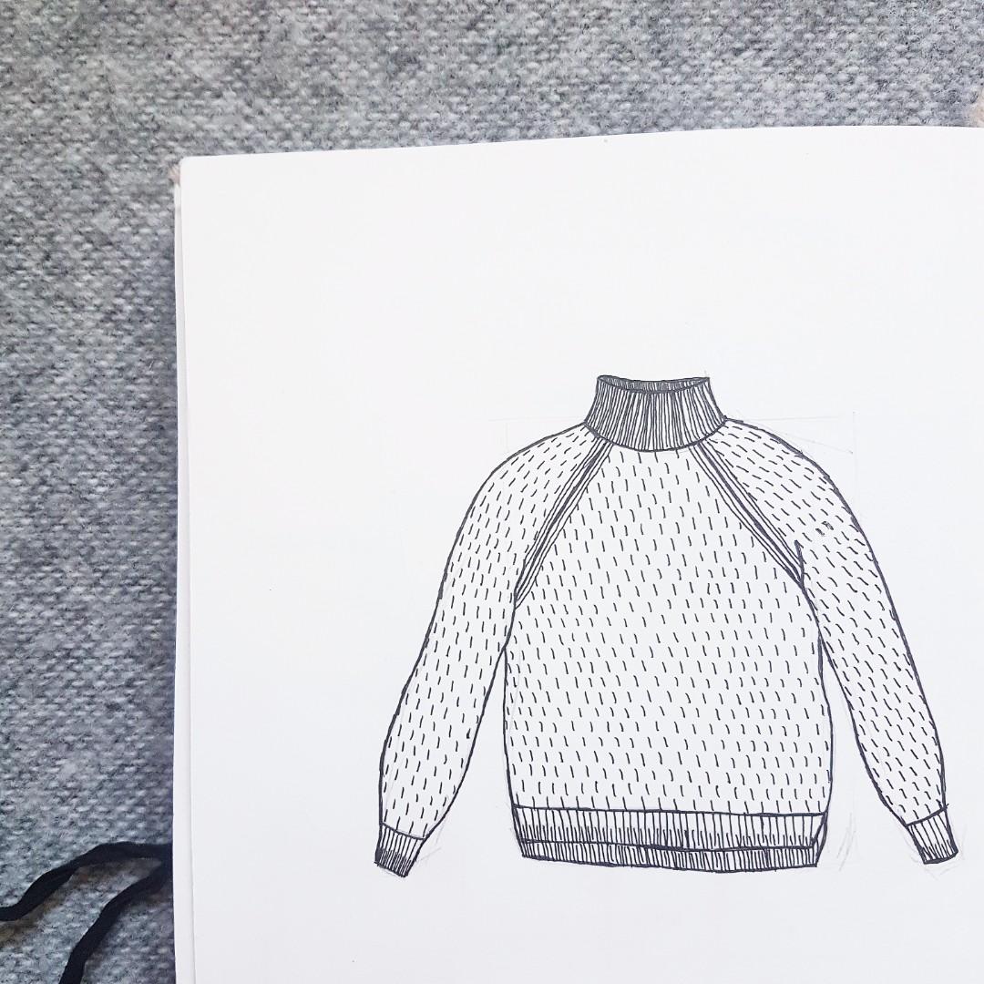 Designing knitting patterns