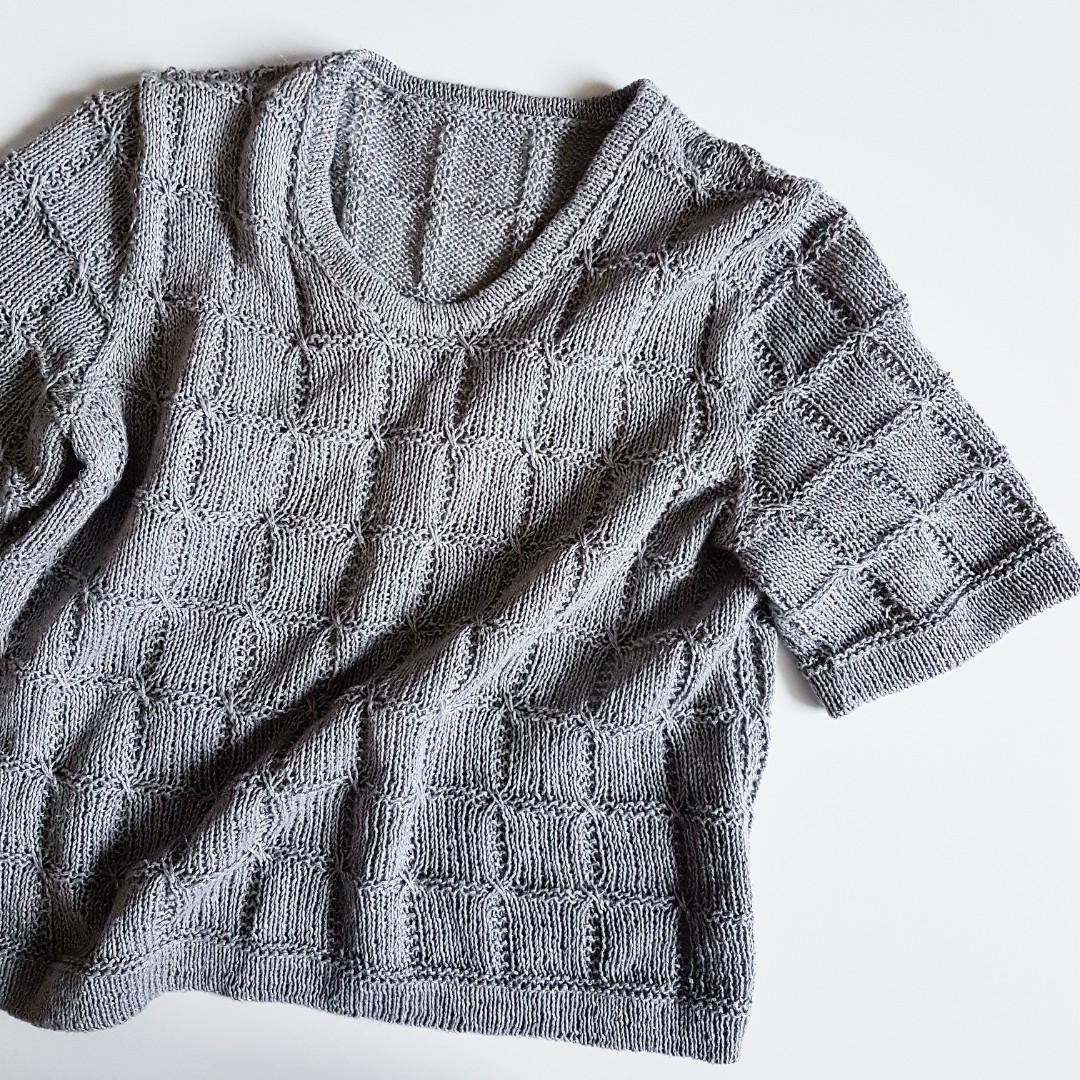 Fragment T-Shirt Knitting Patter