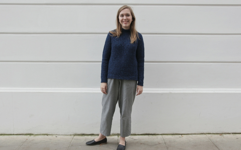 The Shorthand Sweater by Clare Mountain