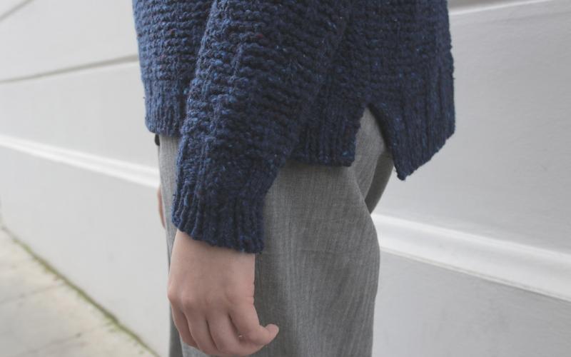 Shorthand Sweater Knitting Pattern
