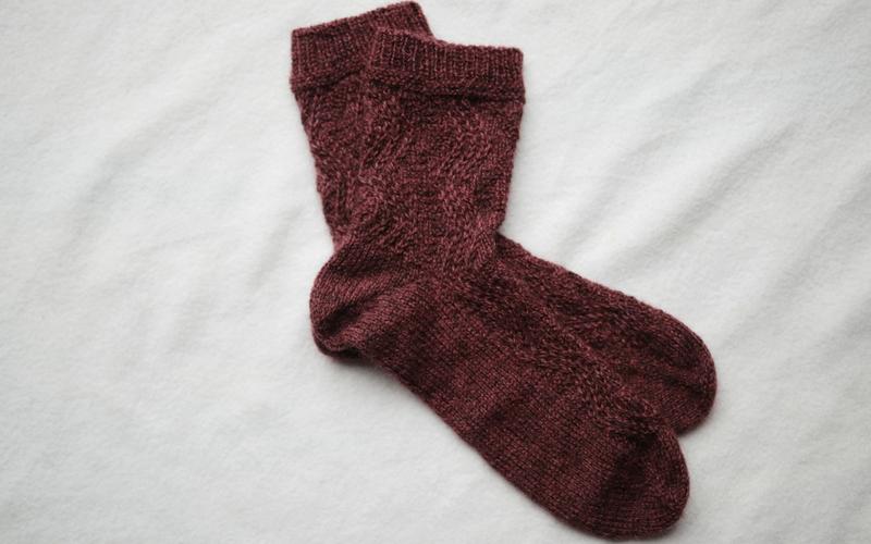 Bronte Socks Knitting Pattern