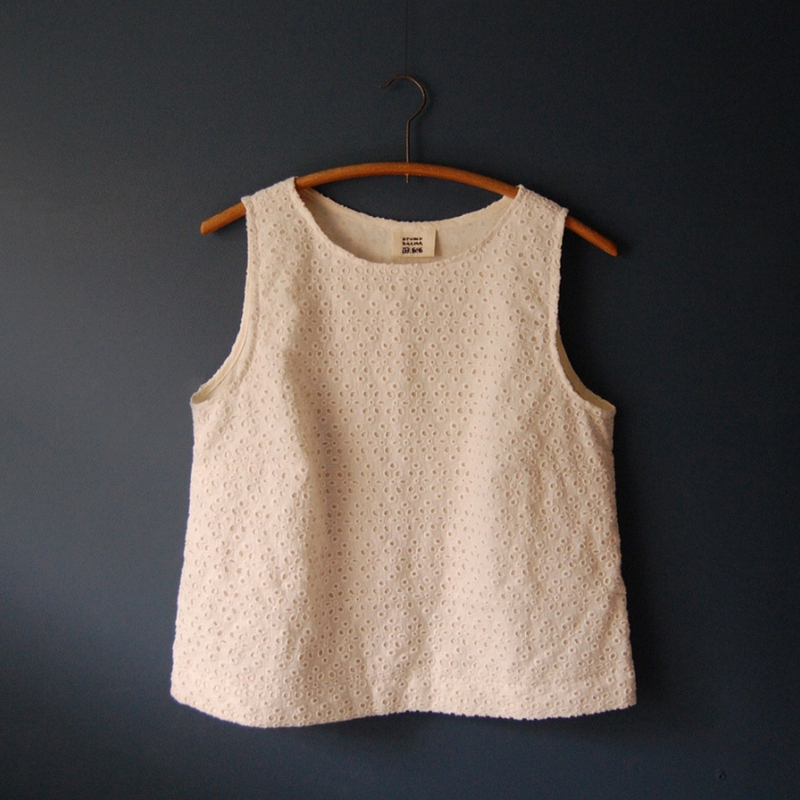 Sacha's Willow Tank: a beautiful pattern that she recommends to beginner sewists. I have made one myself and completely agree!