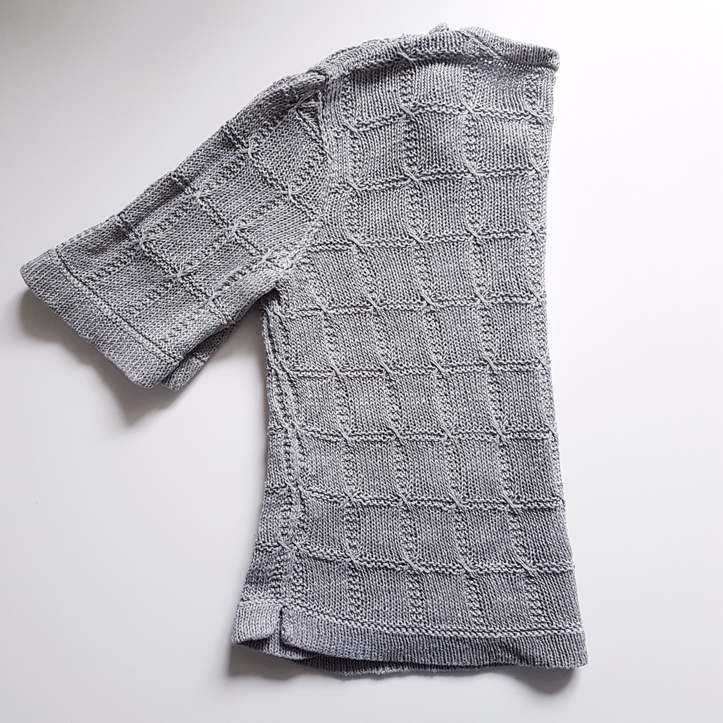Fragment T-Shirt in Quince & Co Sparrow