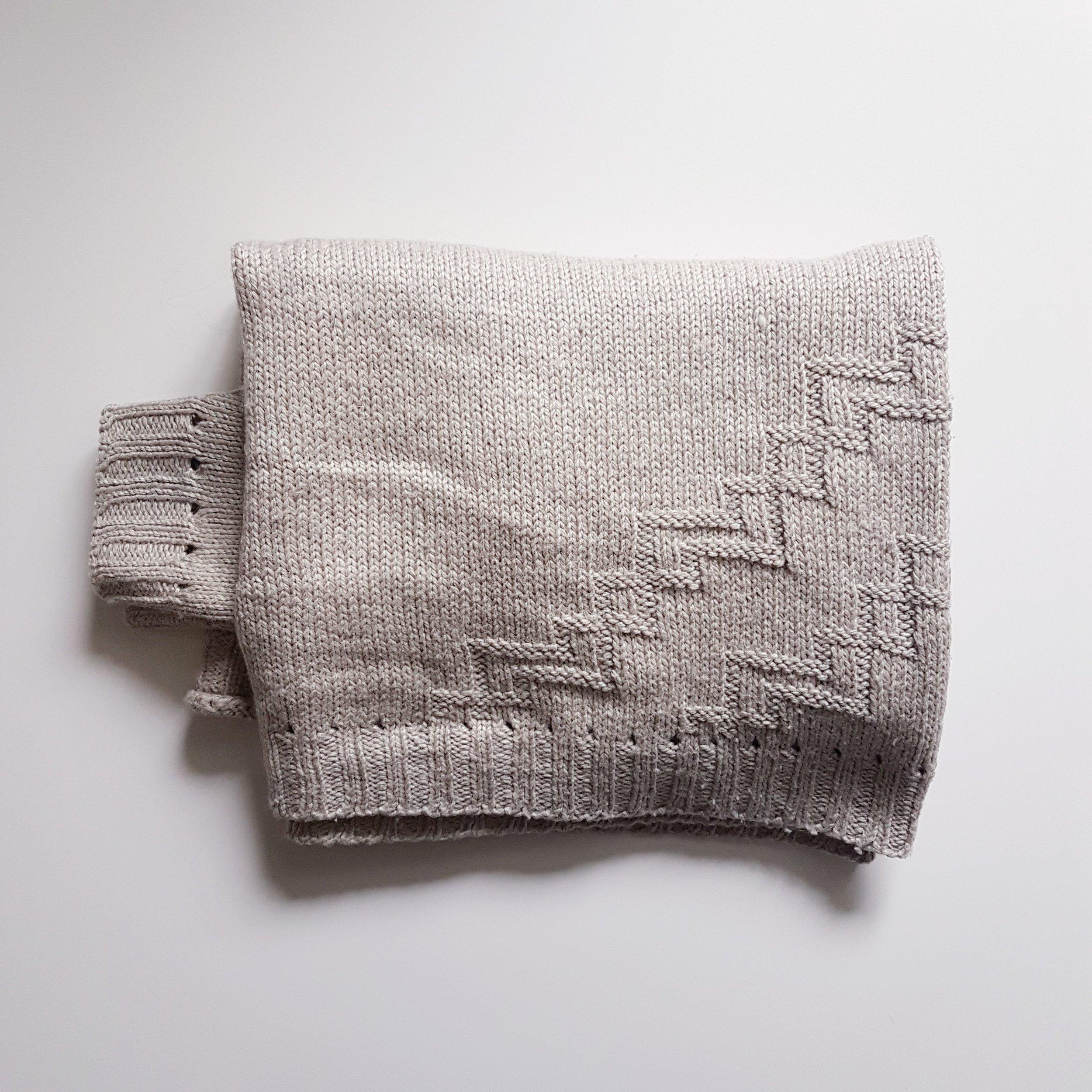 Splitstone Sweater in Blacker Yarns Lyonesse DK