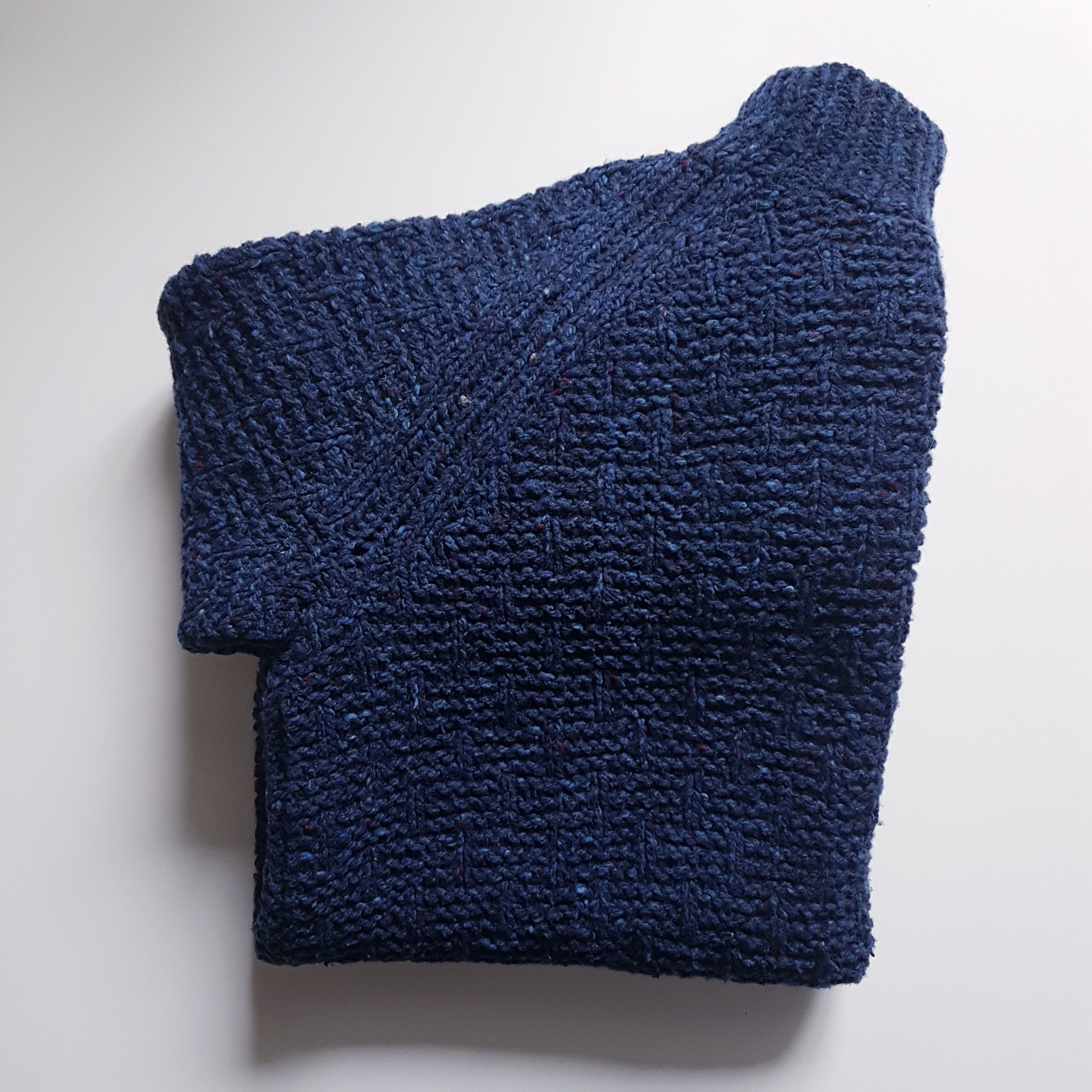 Shorthand Sweater in The Fibre Co Arranmore
