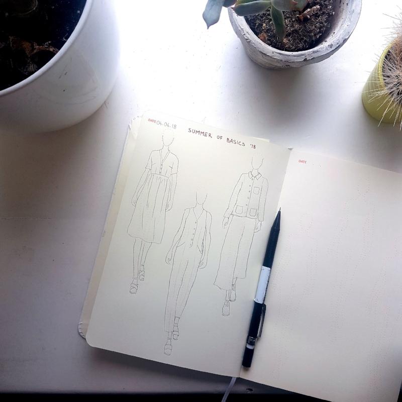 Summer of Basics Sketch Plans