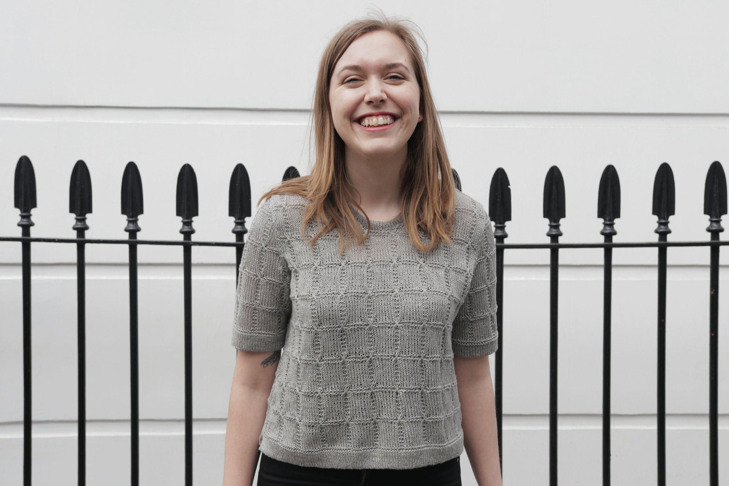 I will teach you how to design knitting patterns - Hi, I'm Clare. I teach knitters how to confidently design and sell their own knitting patterns in multiple sizes.