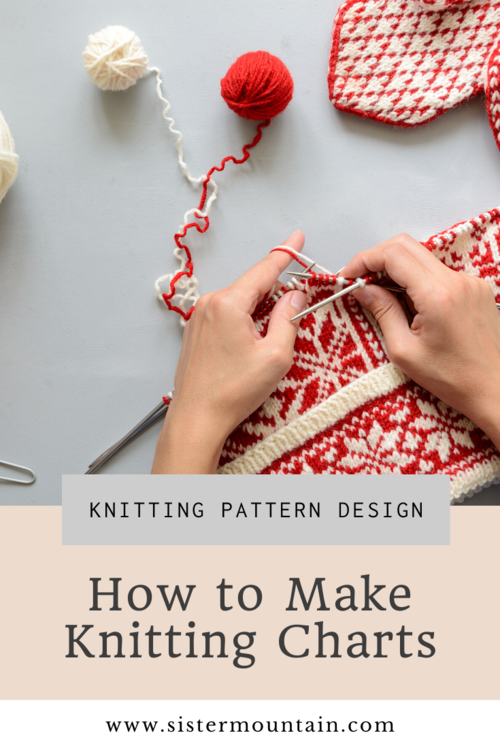 How To Make Knitting Charts Sister Mountain