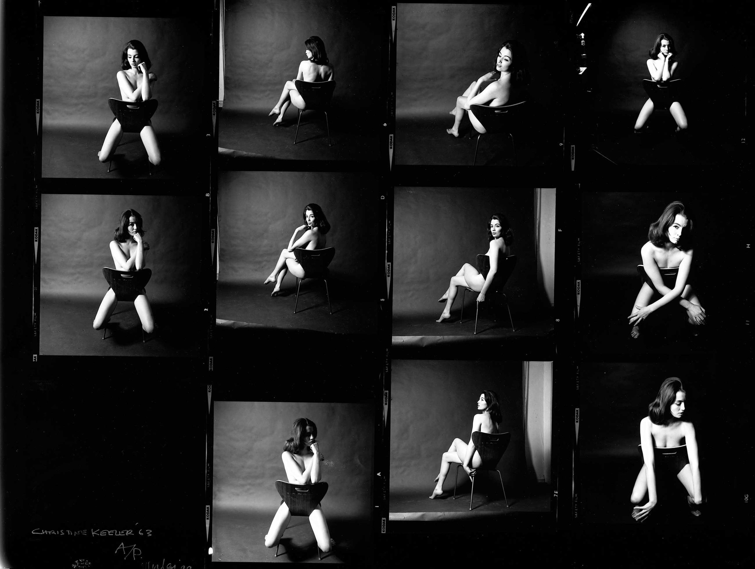 Christine Keeler, photographs by Lewis Morley © Lewis Morley National Media Museum Science & Society Picture Library