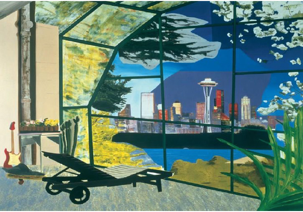 DEXTER DALWOOD -  Kurt Cobain's Greenhouse, 2000