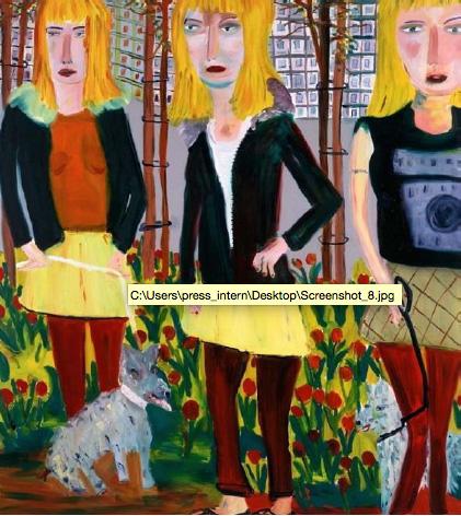 MARTIN MALONEY -  Saplings, 2004