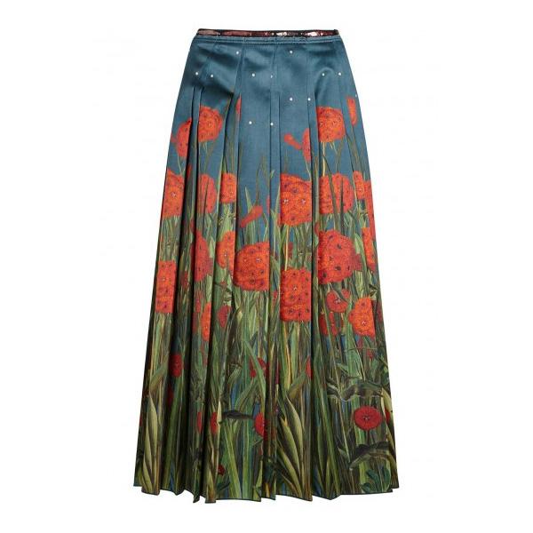 GUCCI -Floral Print Silk Midi Skirt, £1,770