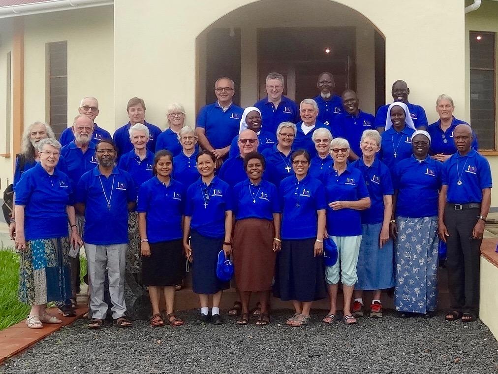 Solidarity with South Sudan    Fr Paul Smyth, back row, centre