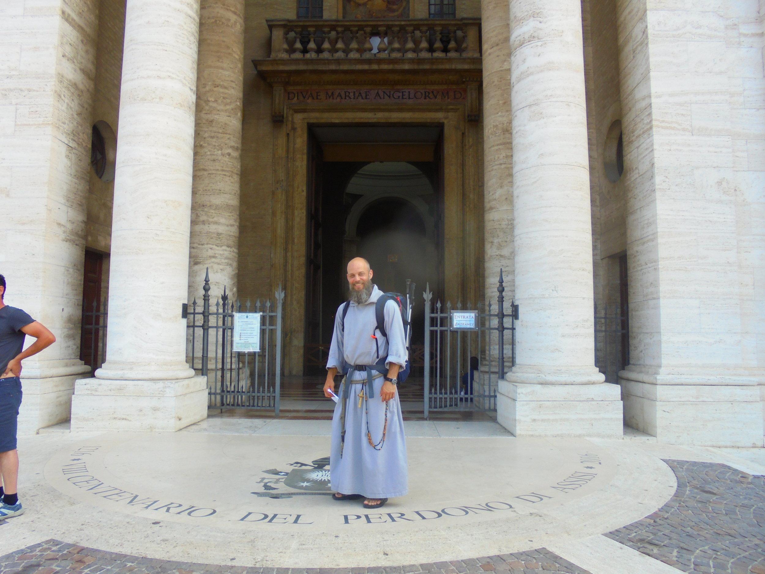 Fr Gabriel in Italy