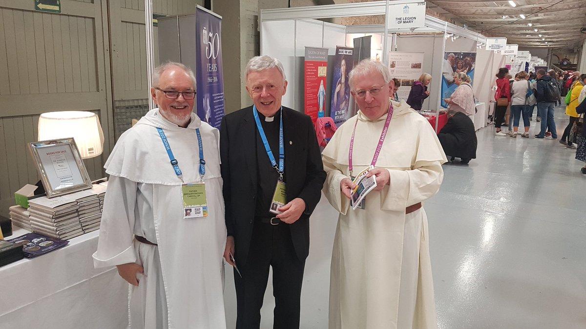 Prior Provincial, Fr Gregory Caroll OP, Archbishop Michael Neary, Fr Bernard Treacy OP