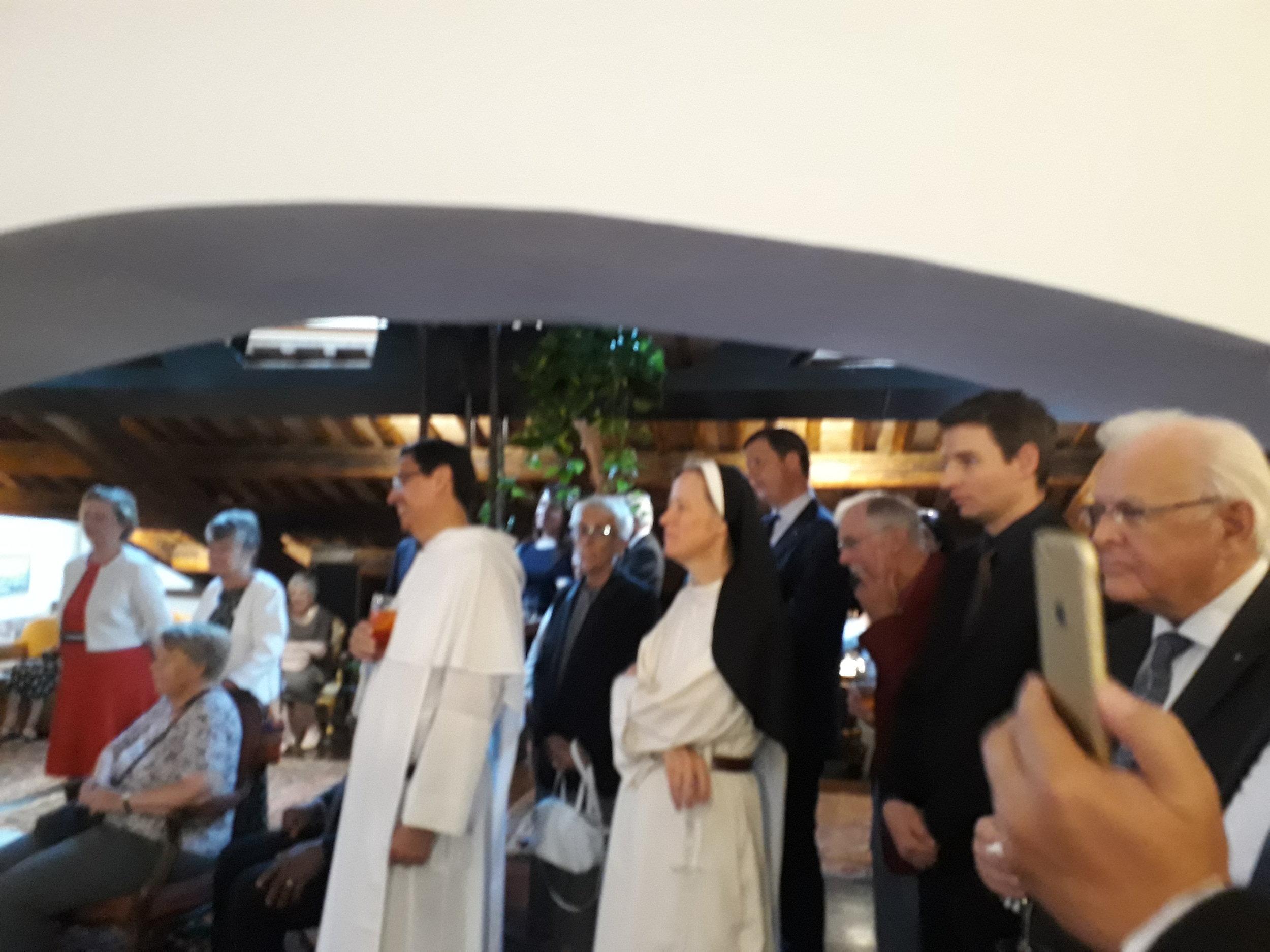 Rome reception for Sr Imelda