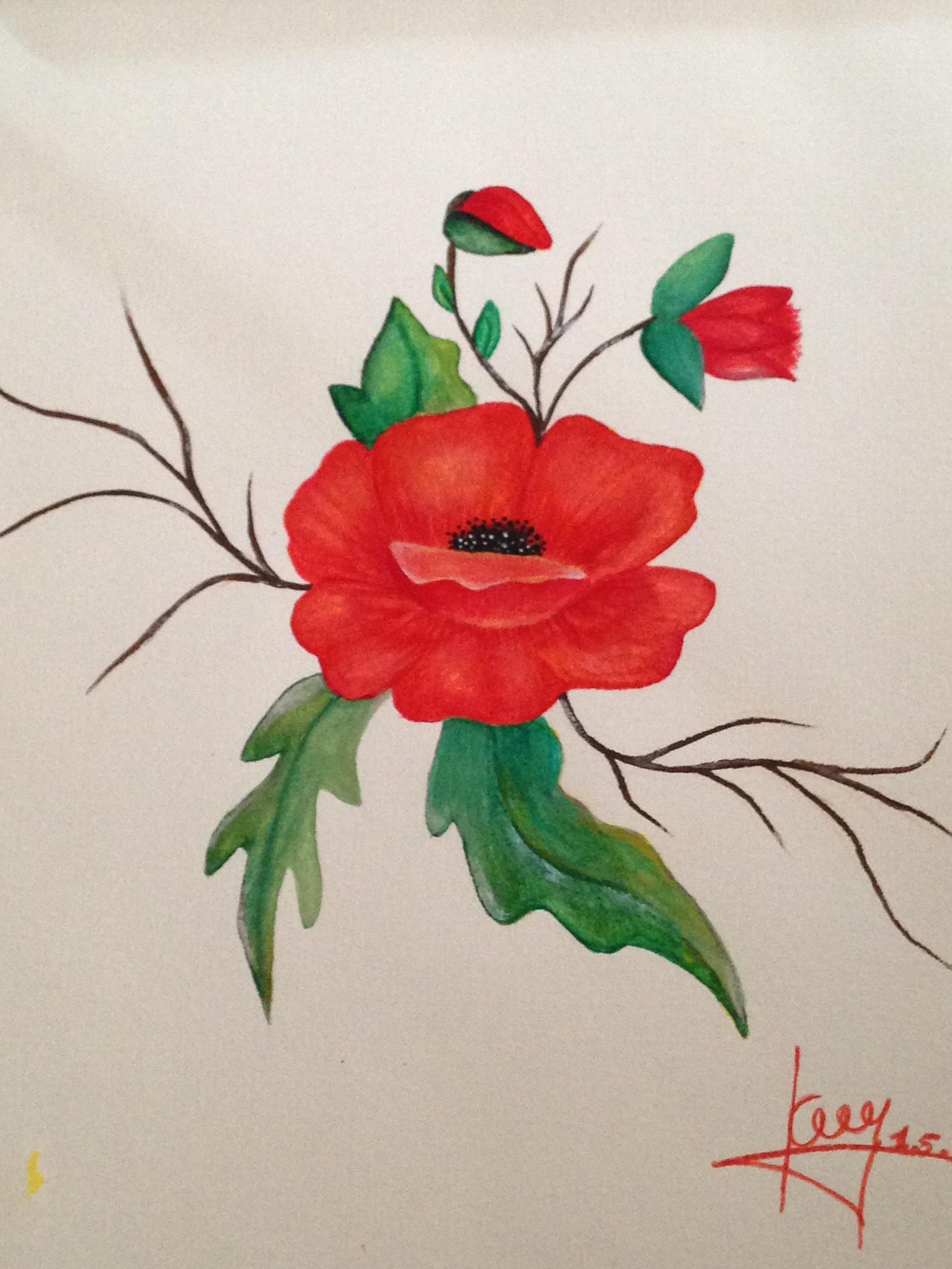 doreenartredflower.JPG