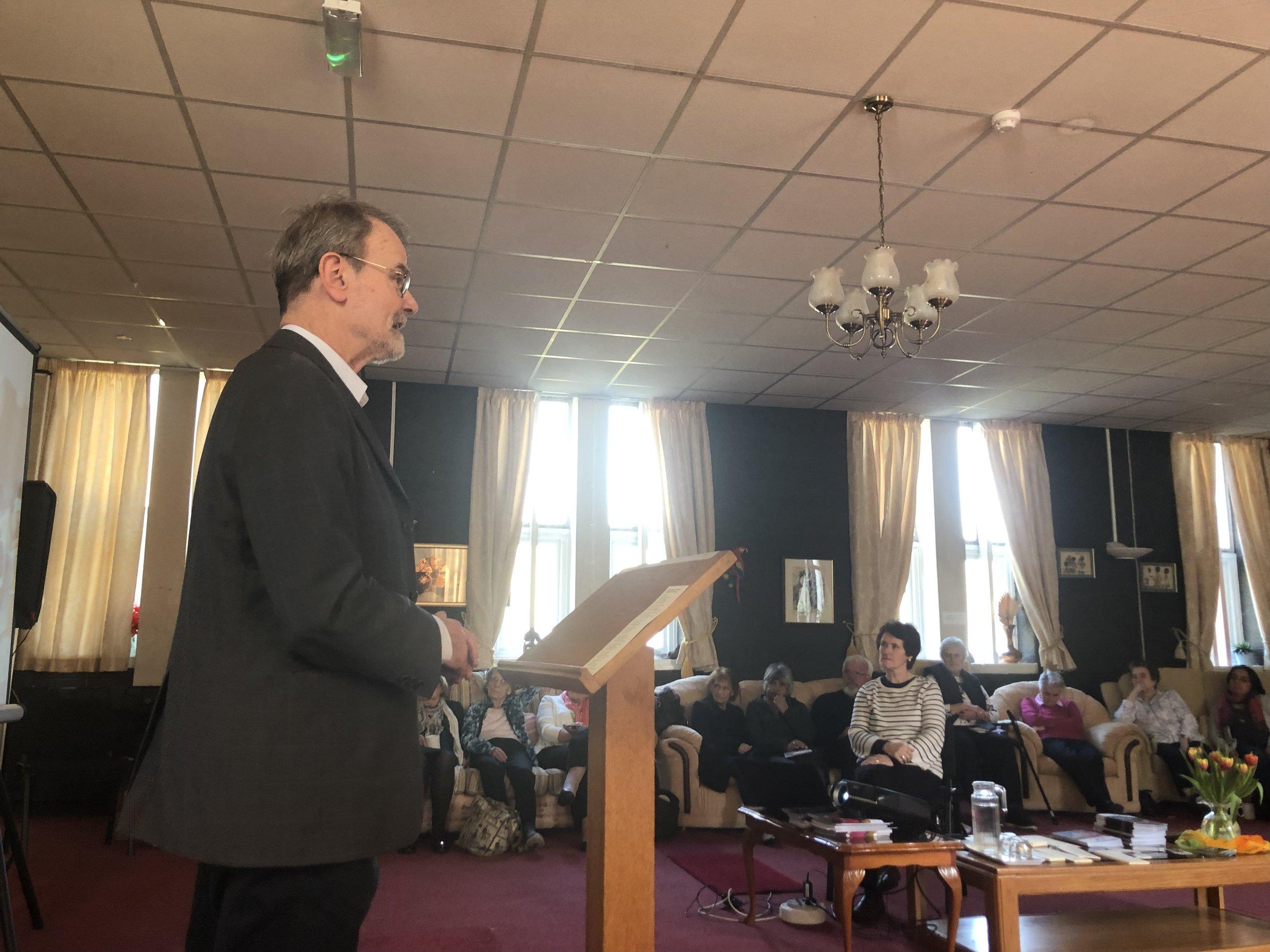Anthony Brown of Caritas in Salford Diocese