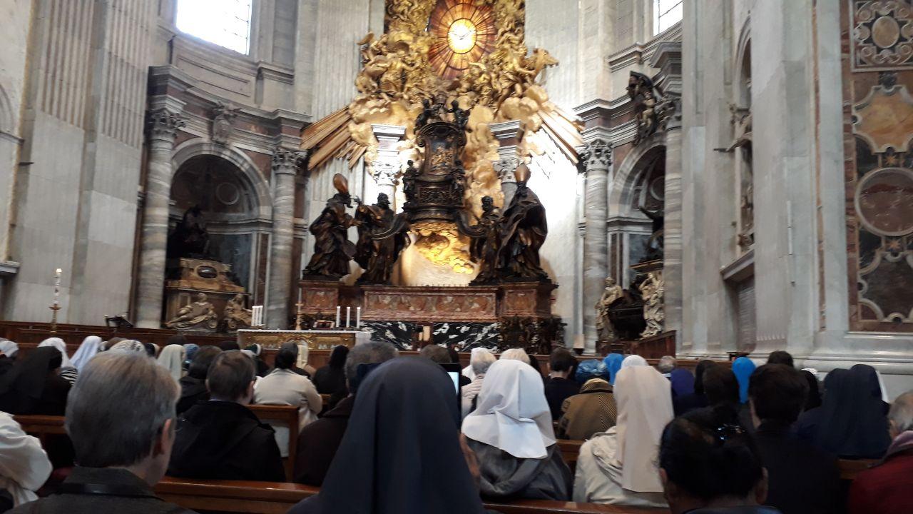 Mass at St Peter's