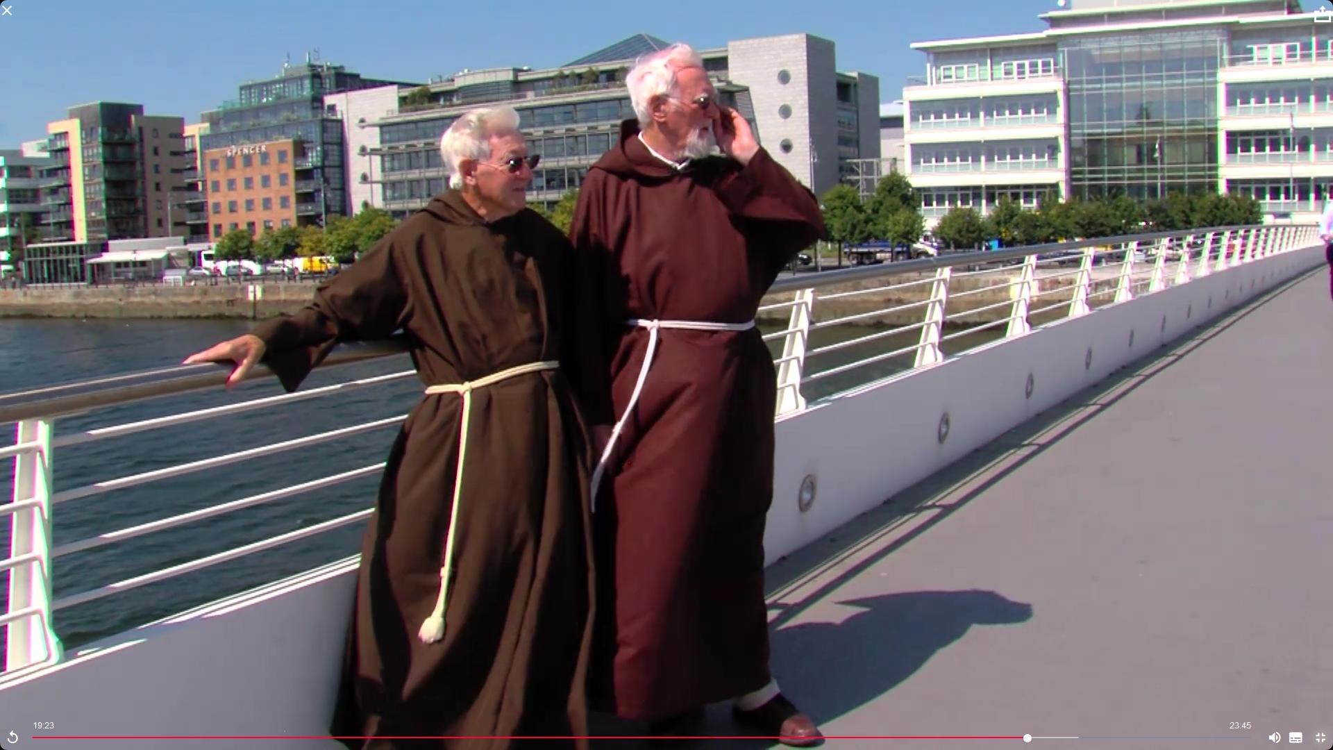 Fr Brian (left) & Fr Jude