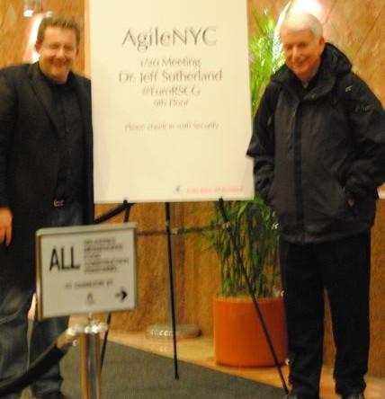 Joe Krebs and Jeff Sutherland