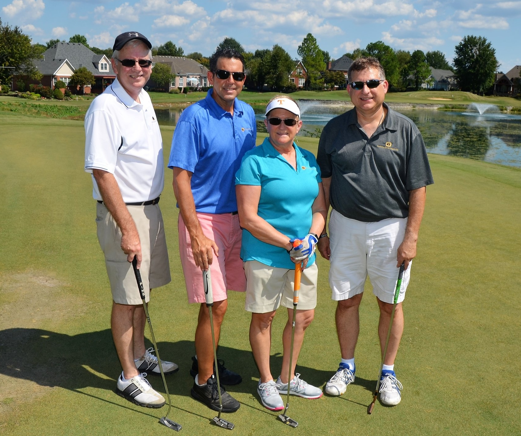 Representing Ghertner & Company were Stacy Adams, Human Resources Director, and Community Association Managers Bob Welborn, John Knouff, and Jeff Campbell.