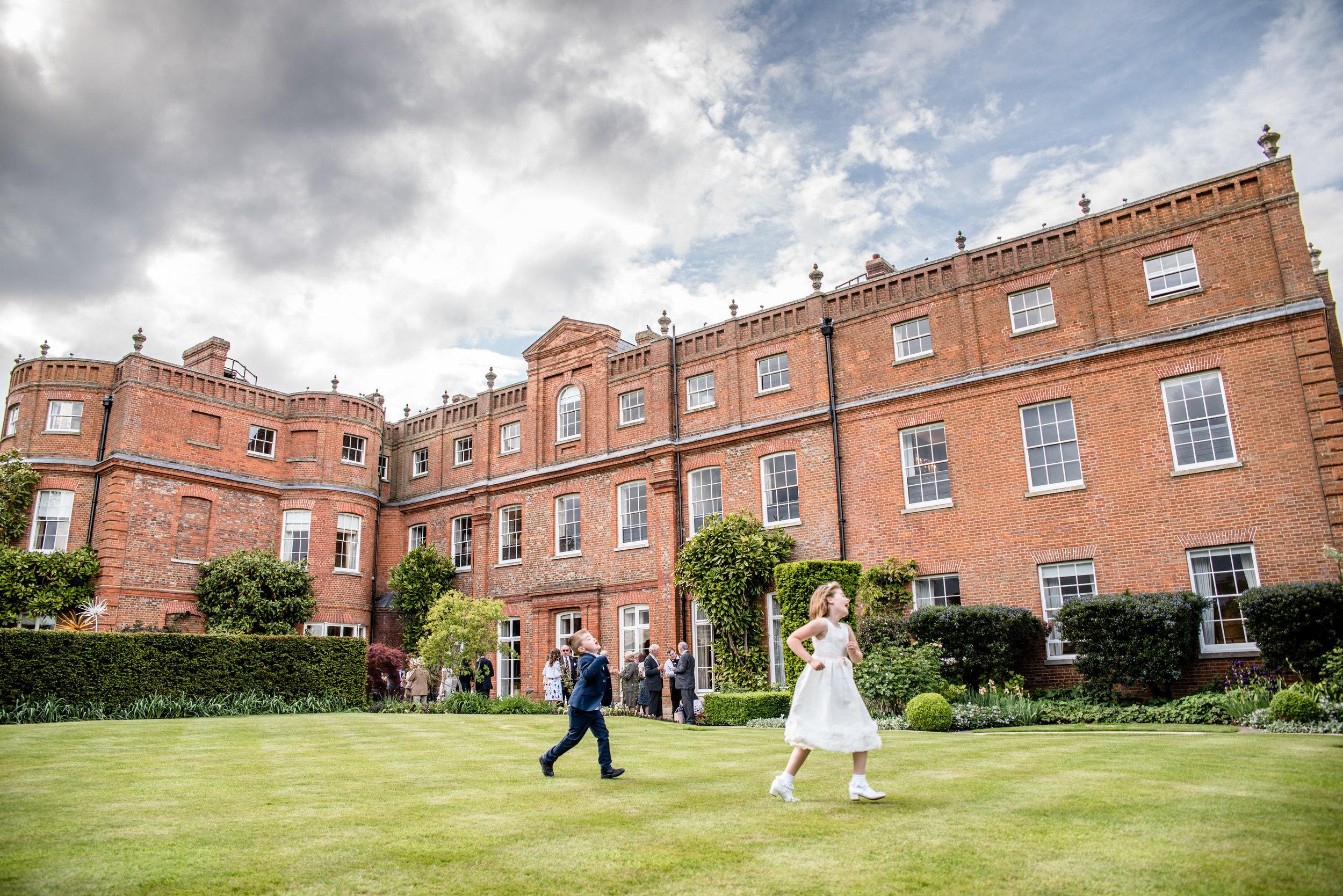 The Grove Hotel wedding