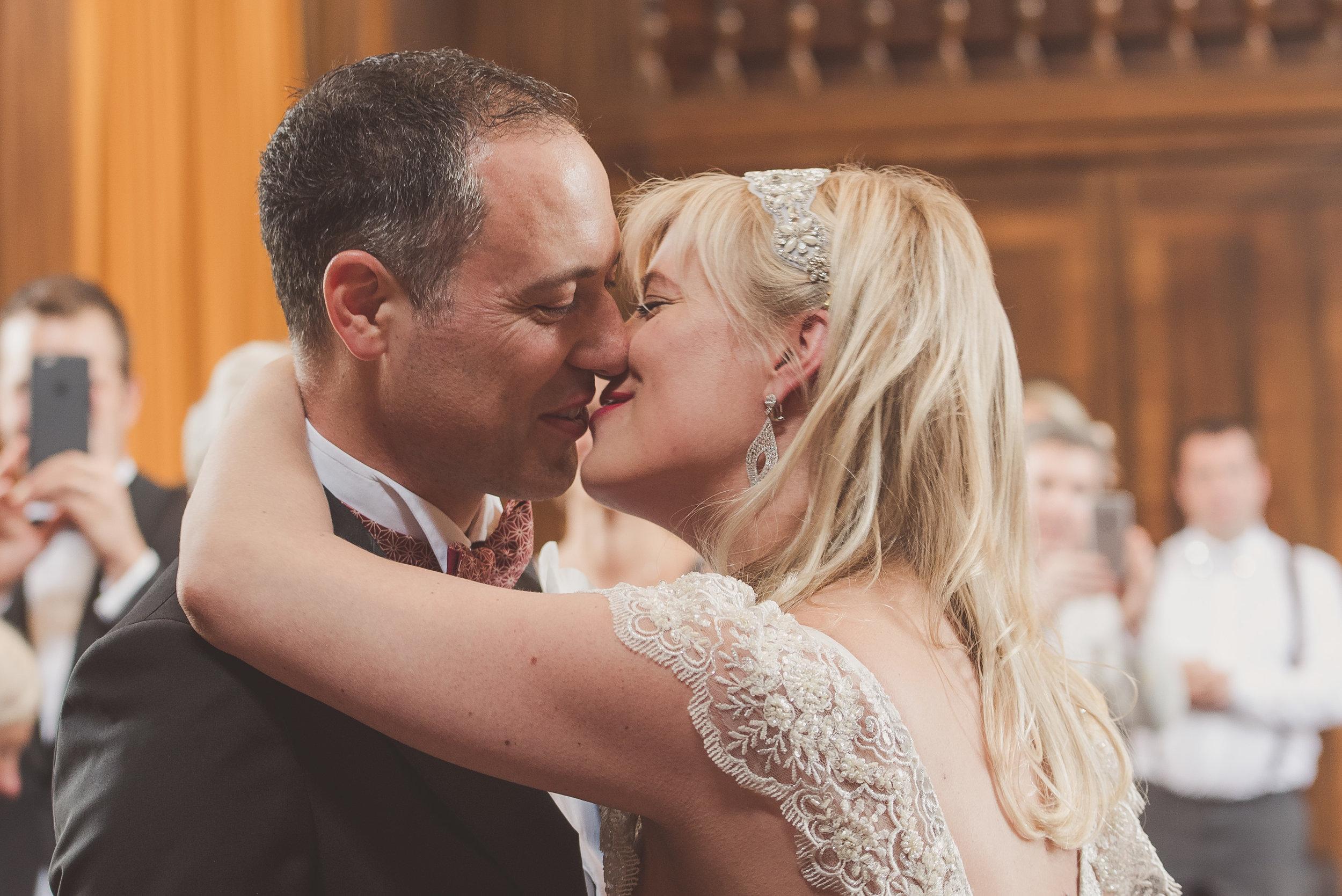 Stoke Newington Towm Hall wedding