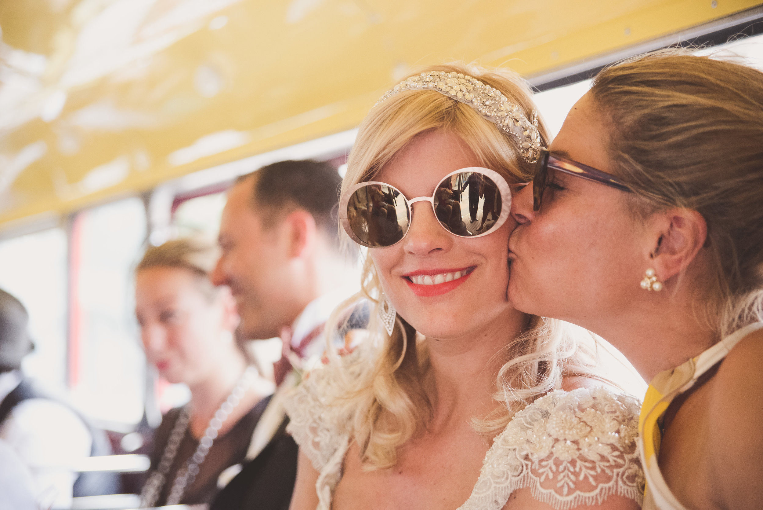 London wedding photography. Red bus photography.