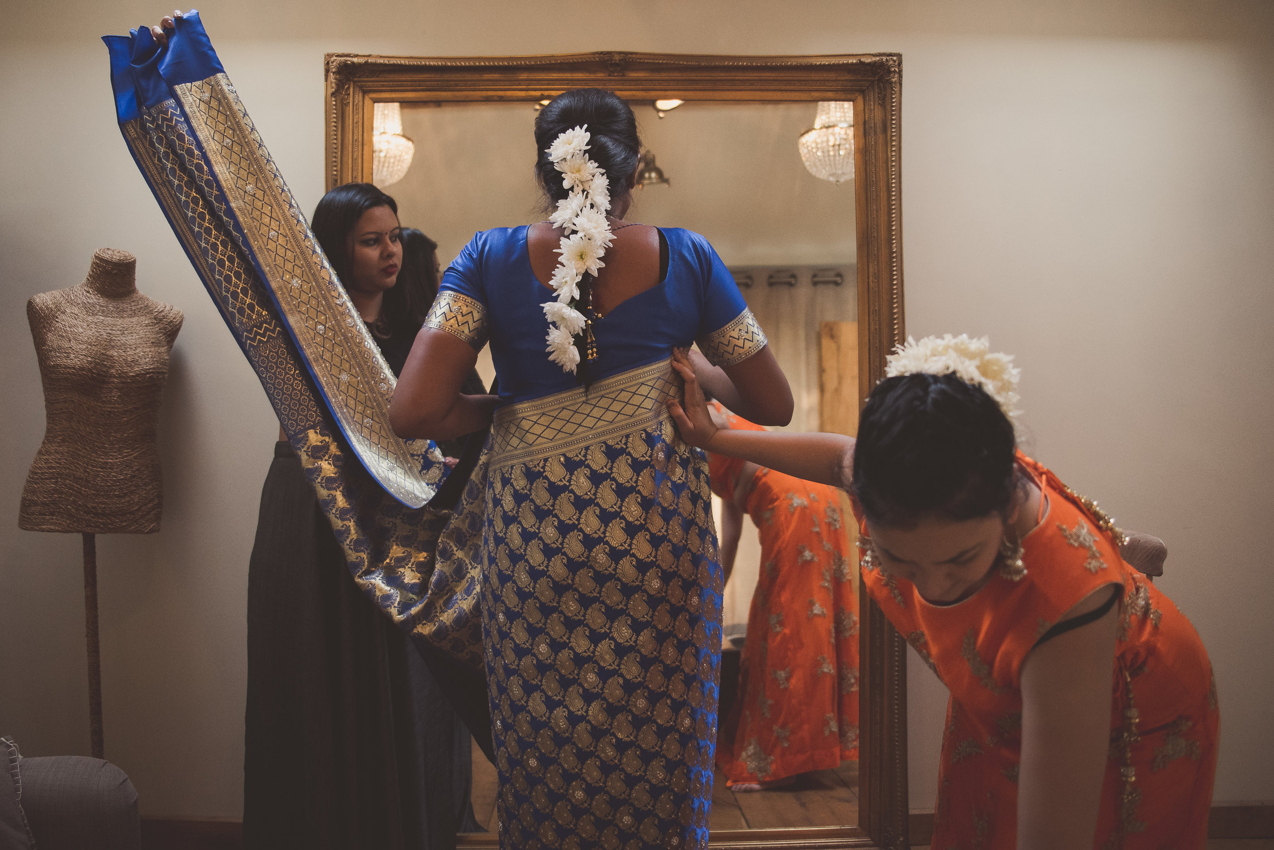 Hindu Bride at The Tythe Barn
