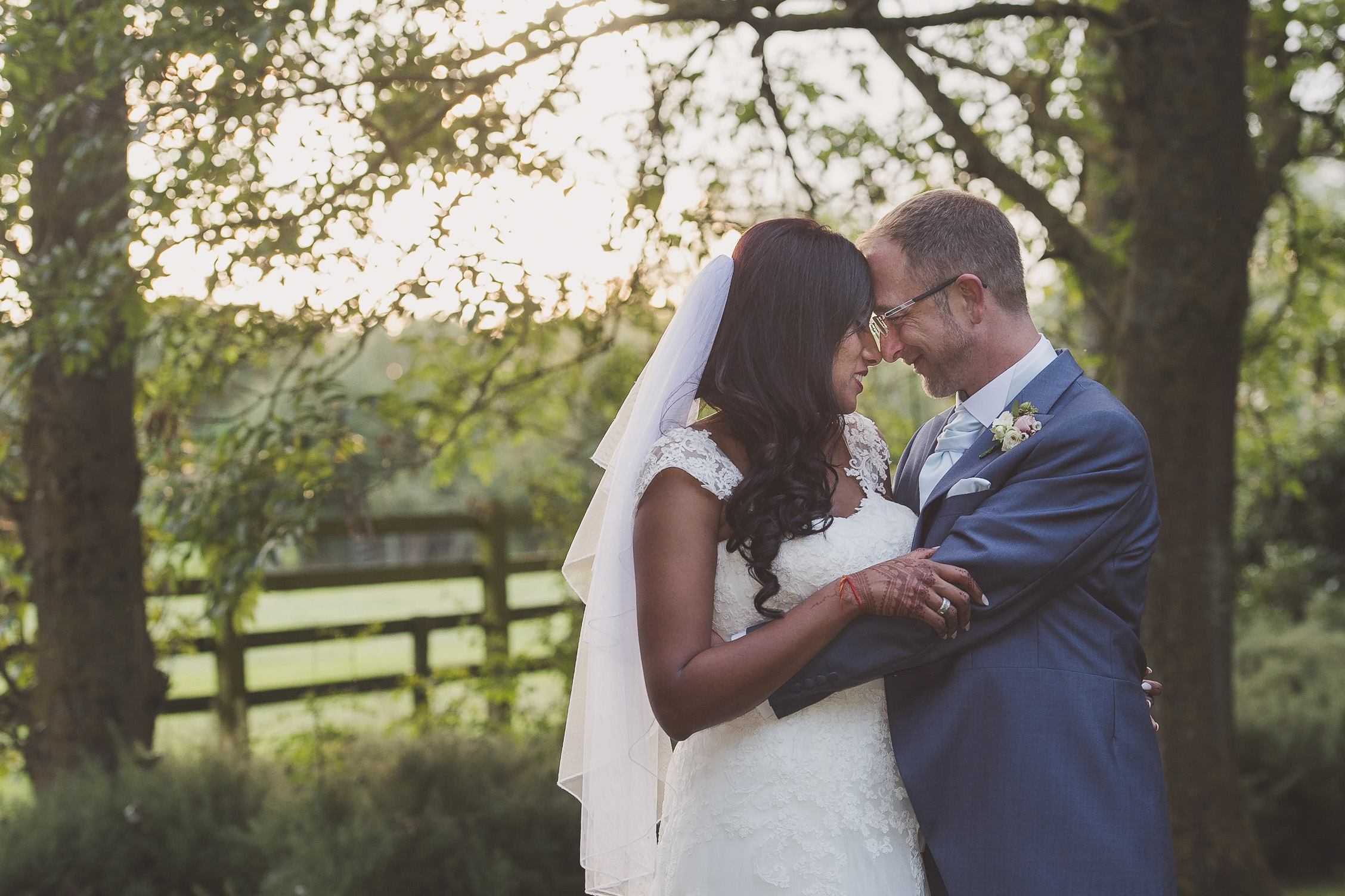 Golden hour Wedding Photography