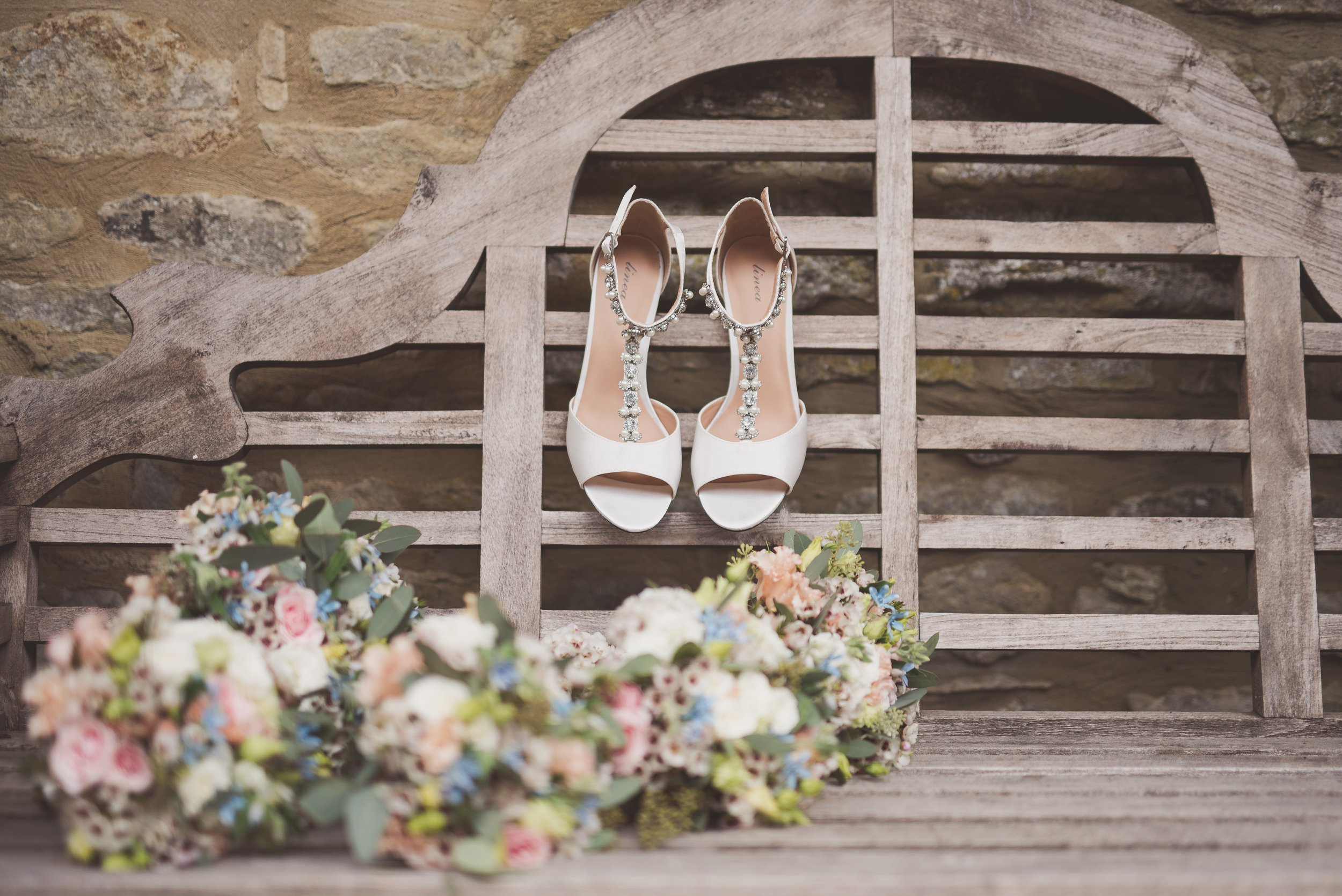 Bridal photography at Tythe Barn