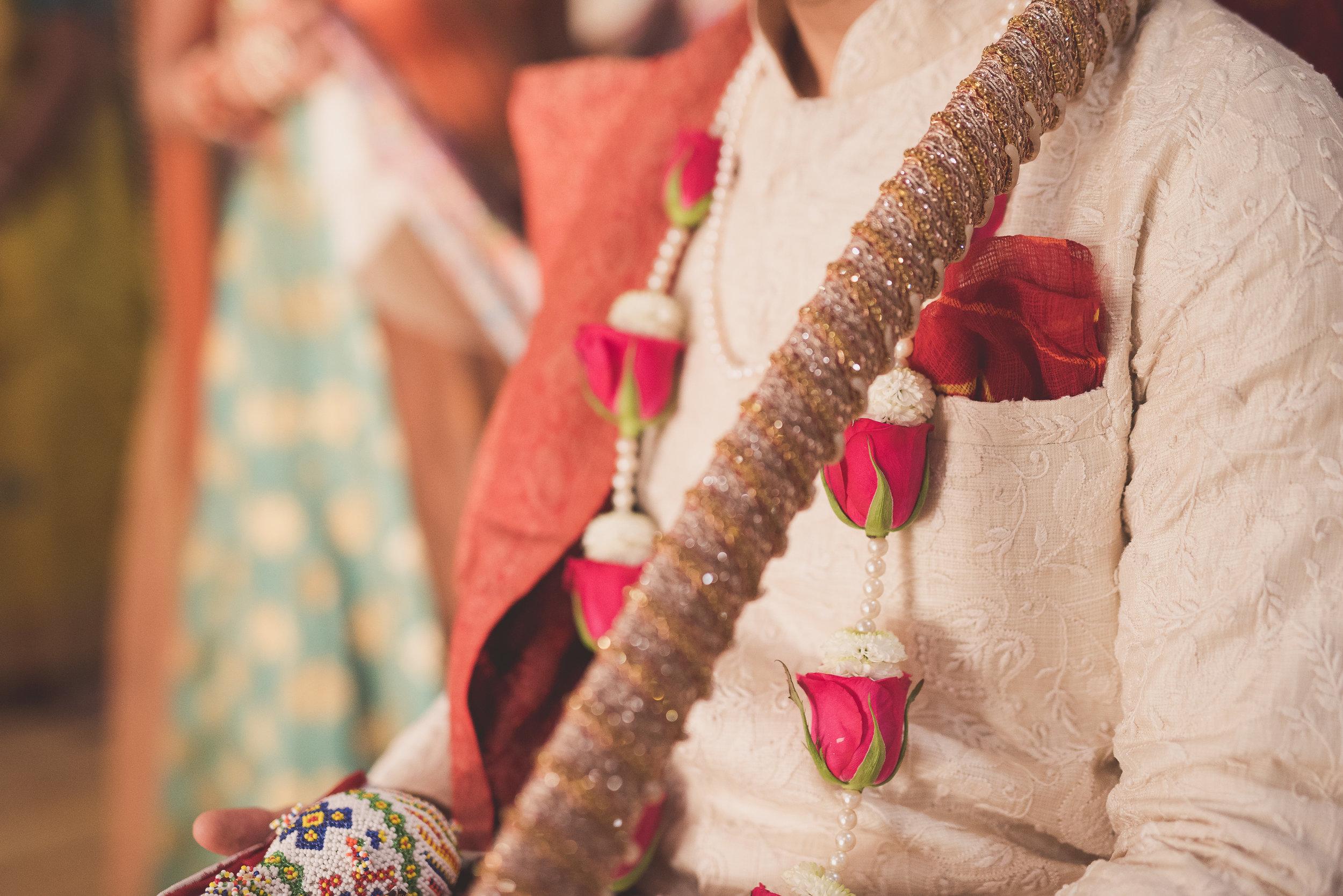 Groom's ceremony at Shree Swaminarayan Temple before wedding ceremony at Oshwal Centre.