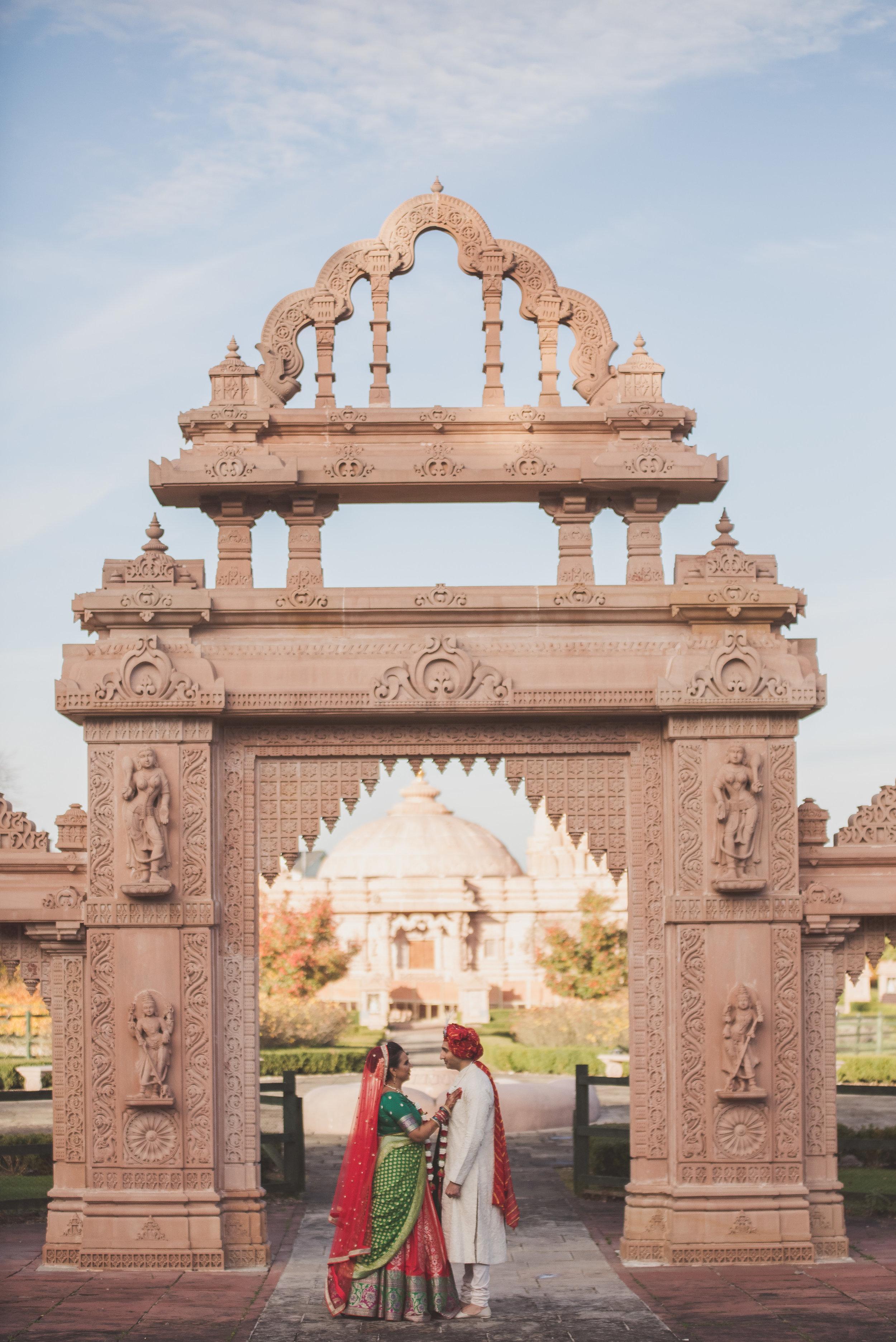 Hindu wedding at the Oshwal Centre