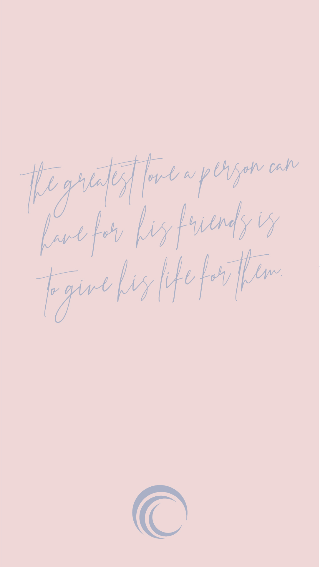 PINK SCRIPTURE WALLPAPER