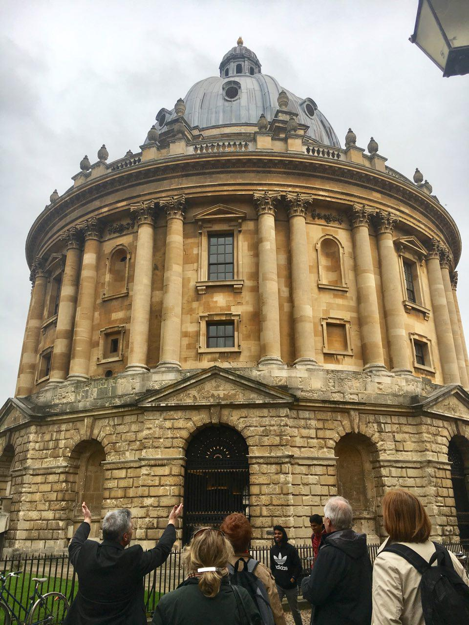 Adrian giving an extensive tour of Oxford