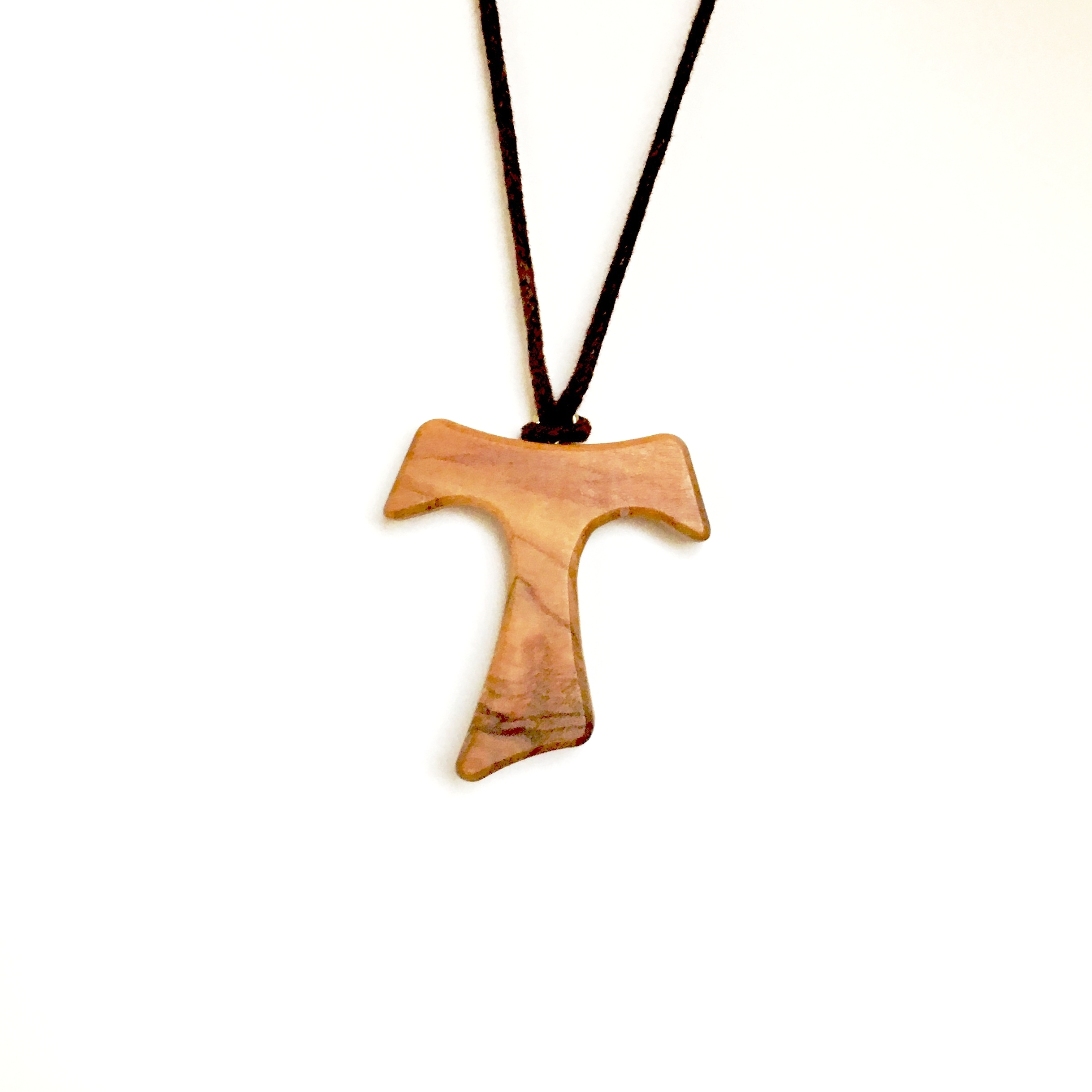 One of the wooden Tau crosses worn by our Pastoral Team.