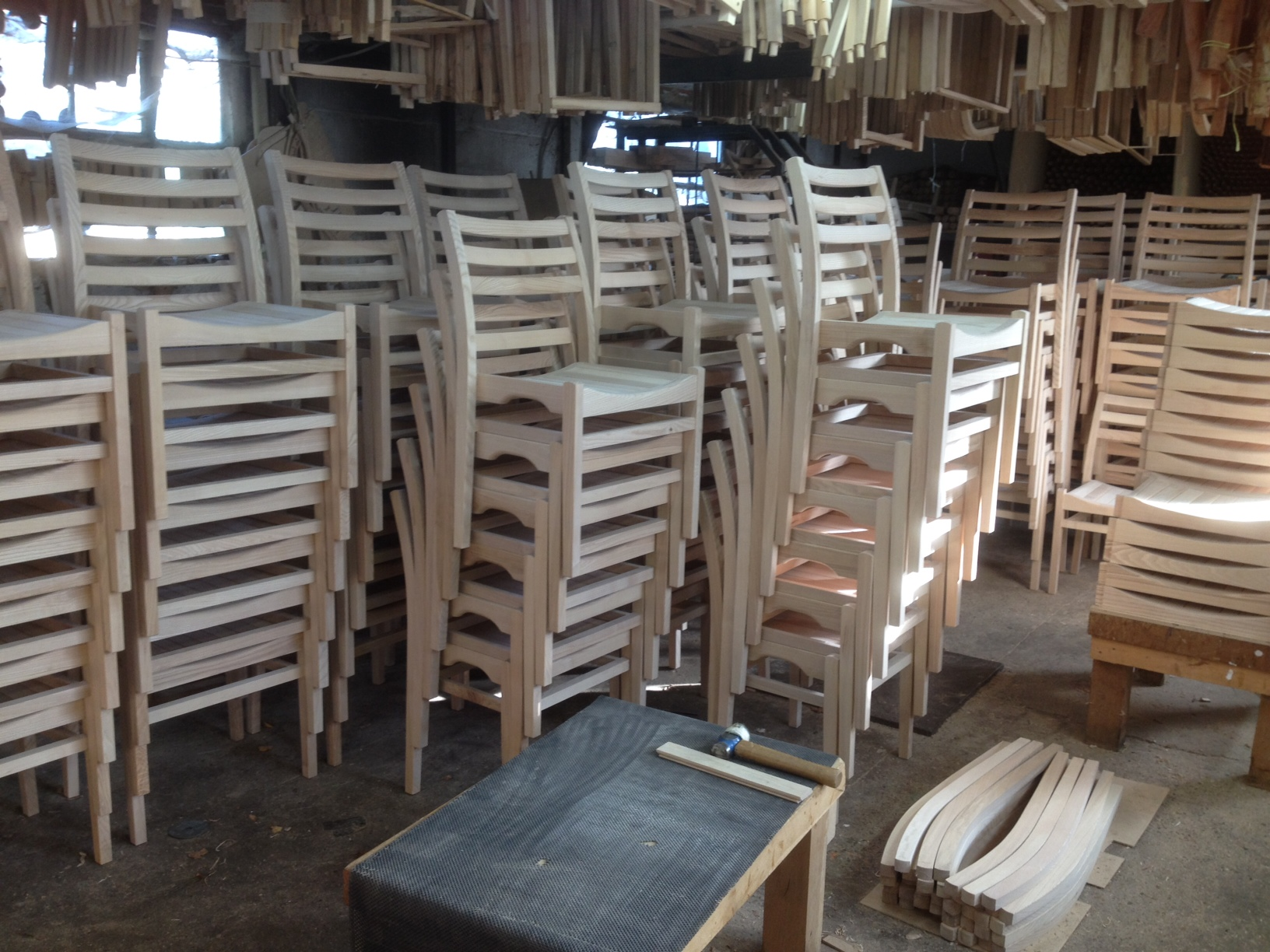 St Mary Magdalene chairs