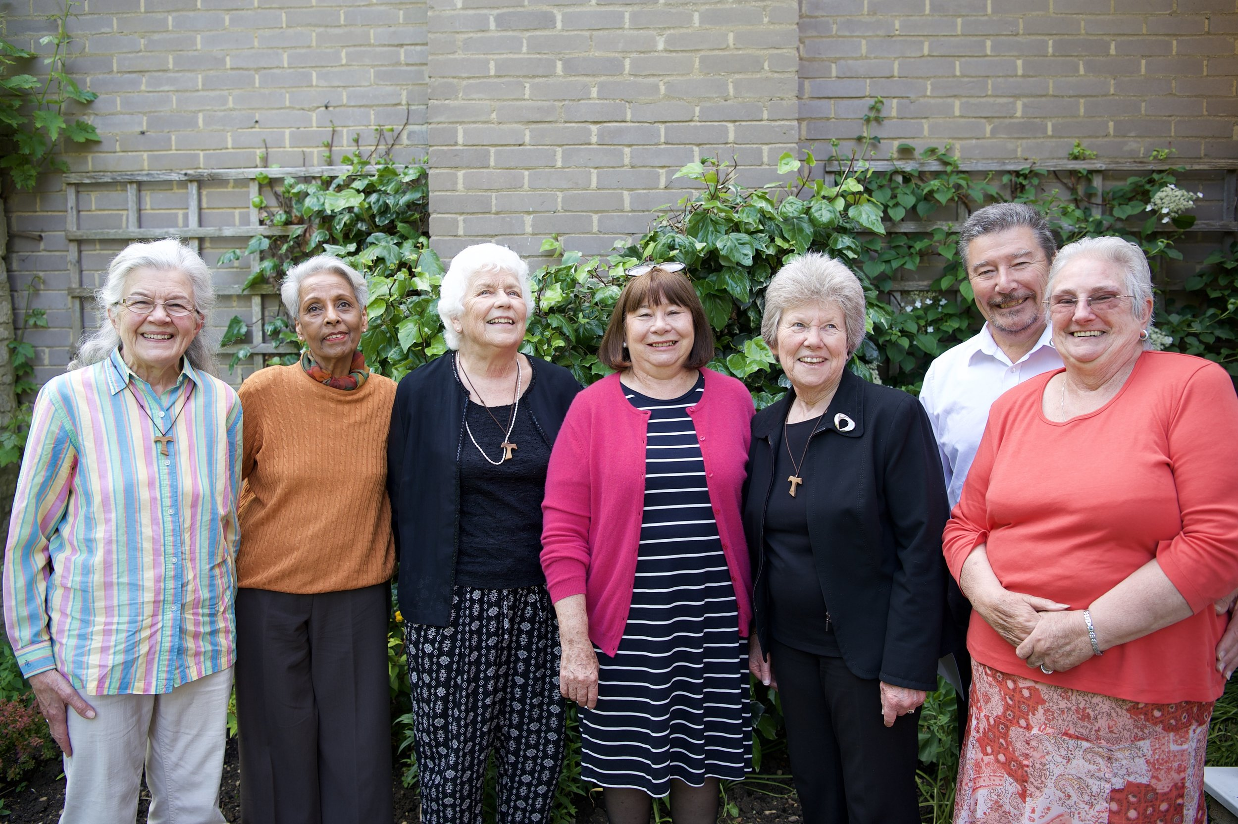 Members of Woodstock's Pastoral Team
