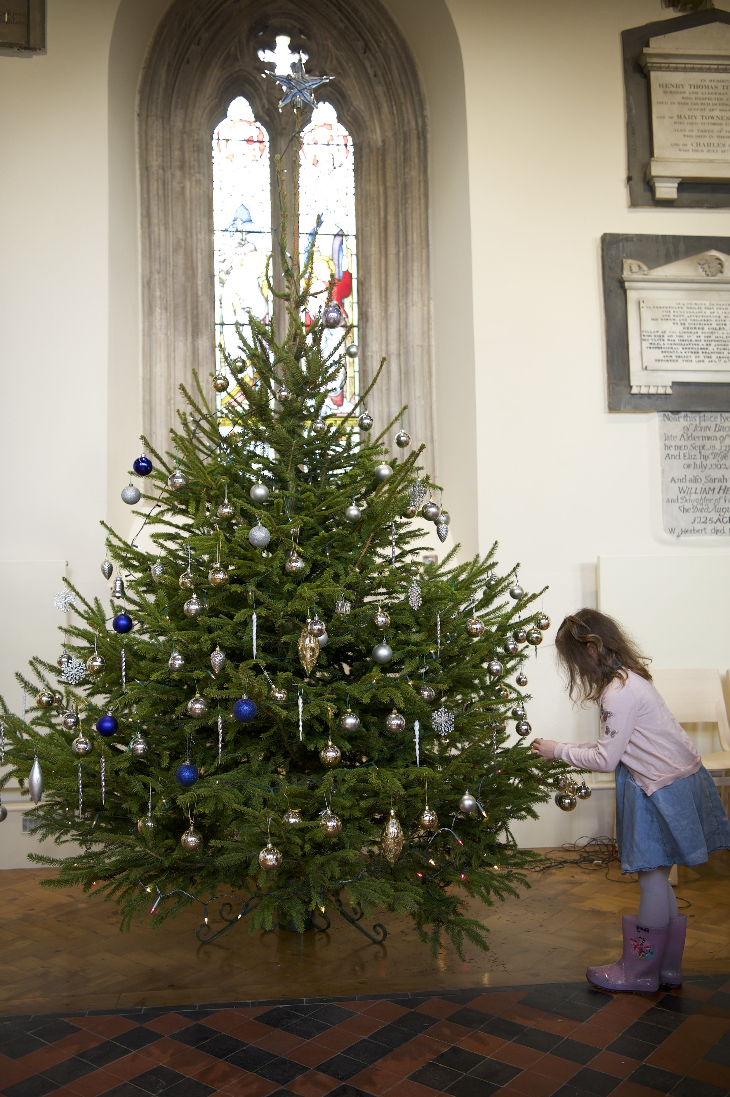 St Mary Magdalene Christmas Tree