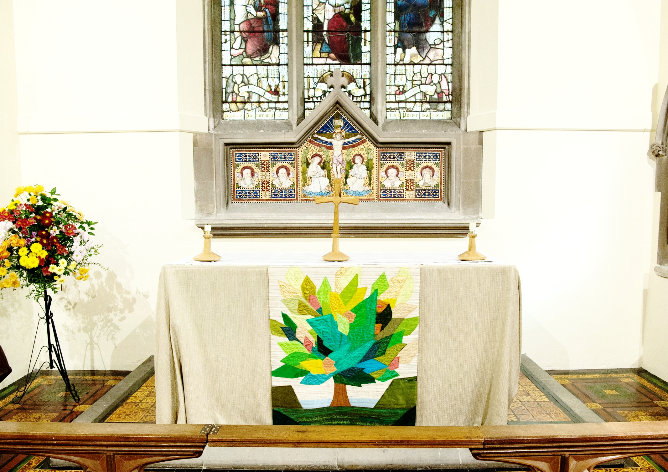 St Martin's Church Bladon, Altar