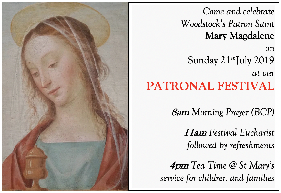 Mary Magdalene festival 2019